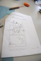 Wer ein klares Storyboard gemacht hat, tut sich später leichter.