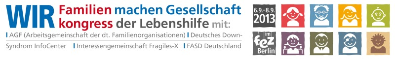 Familienkongress der Lebenshilfe 2013
