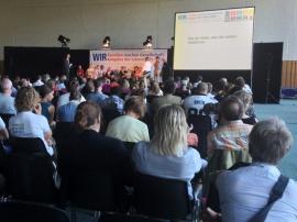 """Talkshow """"Wie wir leben, was wir wollen: Vielfalt live"""""""
