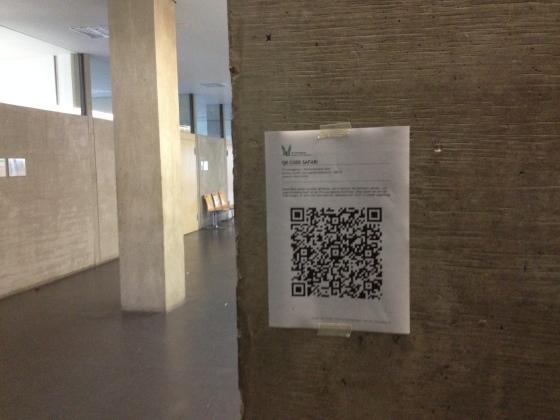 QR Code Ralleye an der PH Ludwigsburg