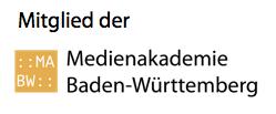 Mitglied der Medienakademie Baden-Württemberg